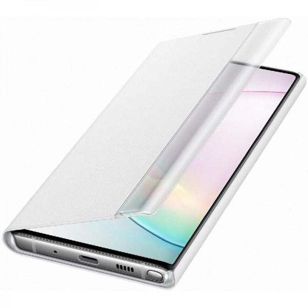Original Samsung Clear View Cover EF-ZN970 für Galaxy Note 10, White