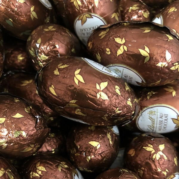 Lindt & Sprüngli, Mousse au Chocolat Eier Füllung, 1er Pack (15x18g) 270g