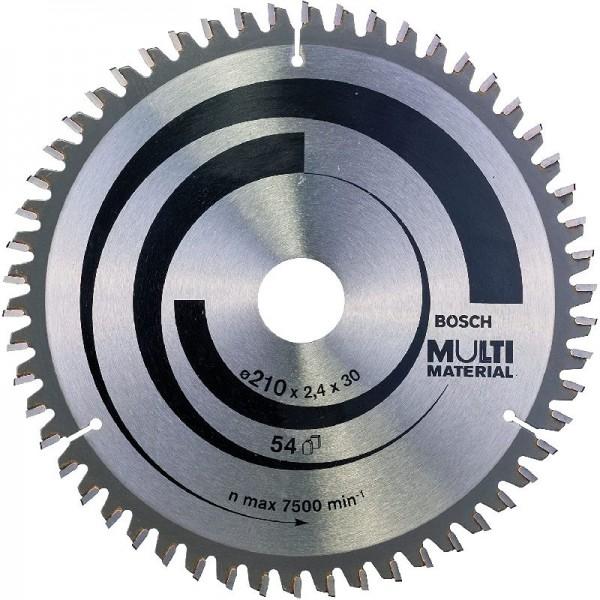 Bosch Professional Kreissägeblatt (für Multi Material, AußenØ: 210 mm Bohrung: 30 mm